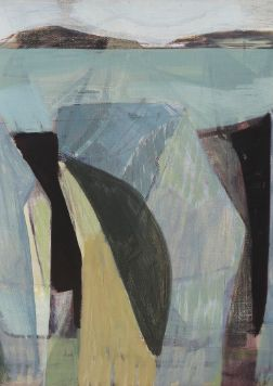 Abstract standing stones